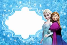 Frozen: Free Printable Cards or Party Invitations. - Is it for PARTIES? Is it FREE? Is it CUTE? Has QUALITY? It´s HERE! Oh My Fiesta!