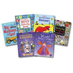 Usborne Books & More. Boys Collection Awesome books...awesome prices!