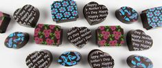 Mother's Day is two weeks away! Come see our vast array of chocolate transfer sheets, as well as dessert wafers & solid chocolate gifts!  www.AmericanChocolateDesigns.com