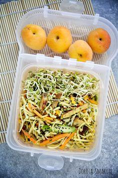 Lunchbox do pracy cz 3 - Dorota Smakuje Bento, Cantaloupe, Lunch Box, Fruit, Food, Essen, Bento Box, Meals, Yemek