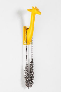 Just ordered 3 of these to hand in my entryway and hold my purses~ LOVE THEM!    Giraffe Hook  #UrbanOutfitters