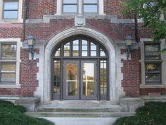 Morgan Hall, 1919, North Main Entrance