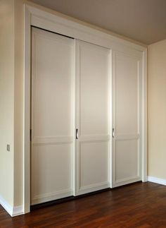 Sliding Closet Doors to Hide Storage Spaces and Create Clear, Modern Interior Design Door Design, Home, Modern Closet, Modern Interior Design, Modern Closet Doors, Interior Design, Doors Interior Modern, Modern Interior, Wardrobe Doors
