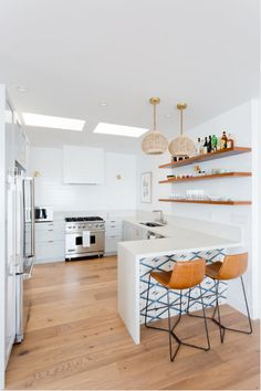 Clé Cement All Over Dreamy Malibu Beach House By Veneer Design Kitchen Counter Stools