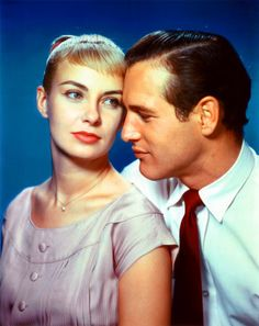 Great on screen couples - Paul Newman and Joanne Woodward, (married from 1958 until his death in 2008) -  Films:The Long, Hot Summer (1958), Rally 'Round the Flag, Boys! (1958),   From the Terrace (1960),   Paris Blues (1961),   A New Kind of Love (1963),   Winning (1969), WUSA (1970),   The Drowning Pool (1975),   Mr. and Mrs. Bridge (1990),   Empire Falls (2005)