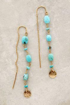 $88 Threaded Coin Earrings - anthropologie.com