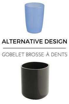 Gobelet brosse à dents design  http://www.homelisty.com/alternatives-design-objets-quotidien/