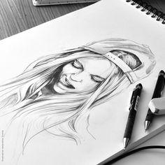 ARTIST SPOTLIGHT: Amandine Comte. Filles à casquettes > superb #fashion #illustration #art