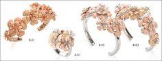 Roberto Poggiali, #PoggialiRoberto, #amazingjewellery, #bouquet, #fiore, #flower, anello, #ring, ,bracciale, #bracelet, #cipria, pale #pink, #silve, #argento, placcato oro rosa, #pinkgold plated, , smalto, enamel, brillanti, #diamonds, gioiello, #jewel, artigianale, #handcraft, oreficeria fiorentina, florentine #goldsmith, #maestro #orafo #Firenze, #Florence, www.robertopoggiali.it
