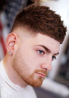 30 Timeless French Crop Haircut Variations In 2019 Styling Guide- french hairstyles 2018 popular hairstyles 2018 New Men Hairstyles, Undercut Hairstyles, Haircuts For Men, Hairstyles 2018, French Hairstyles, Stylish Hairstyles, Hairstyle Men, Mens Crop Haircut, Fade Haircut