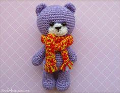Bear Amigurumi Free Pattern