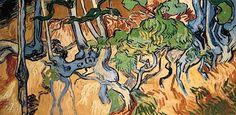 Racines d'arbres Vincent van Gogh