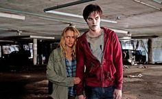 Julie and R from Warm Bodies...a great movie. If you still think it's about zombies after watching it, you're an idiot.