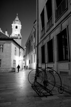 Bratislava Old Town at night (March 2014) - Photo taken by BradJill
