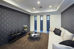 Perth display homes the midsummer by blueprint homes blueprint the impressive entry gallery makes a stunning first impression the long entry gallery in the malvernweather Gallery