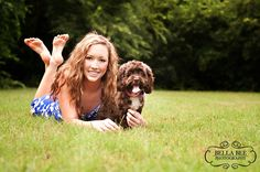 senior portraits with dog - Google Search