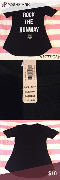 Victoria's Secret 2016 Fashion Show t-shirt. New with tags Victoria's Secret 2016 Fashion Show t-shirt. Victoria's Secret Tops Tees - Short Sleeve