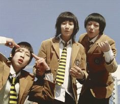 pre-debut Chanyeol