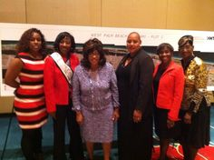 This is Living: Enjoying the All Aboard Florida Rail meeting in Orlando with Congresswoman Corrine Brown and The National Association of Black Women in Construction www.nabwic.org