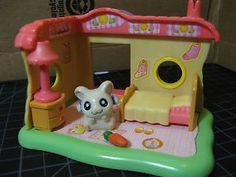 Hamtaro-Bijous-Bedroom-Playset-Figure-Accessories-Hamster