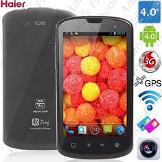 """HAIER W718 4.0"""" IP67 Waterproof MTK6572 Android 4.2.2 Dual Core 5MP CAM"""