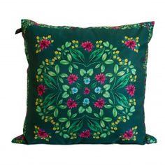 Almofada Flor de Amendoim Sarja