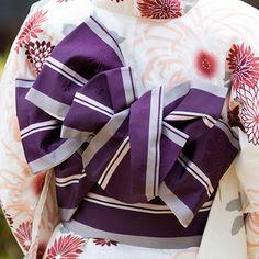帯結び Kimono Yukata, Kimono Japan, Kimono Fabric, Japanese Kimono, Japanese Outfits, Japanese Fashion, Asian Fashion, Costume Japonais, Geisha