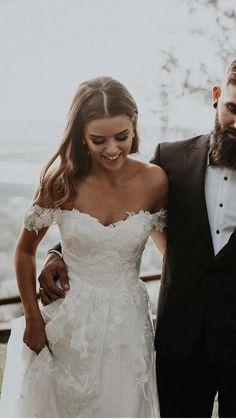 Cute Wedding Dress, Wedding Dress Trends, Dream Wedding Dresses, Bridal Dresses, Bridesmaid Dresses, Short Sleeved Wedding Dress, Short Girl Wedding Dress, Sheath Wedding Dresses, Mermaid Wedding Dresses