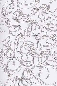 Josie Gledhill Illustration | A few line drawing patterns from my sketchbook.