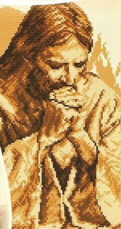 ♥ My Cross Stitch Graphics ♥: Jesus Christ + Catholic Symbols in Cross Stitch