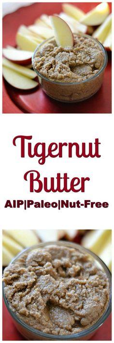 Tigernut Butter Balls (AIP/Paleo/Refined Sugar-Free