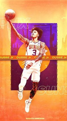 Kelly Oubre Jr, Nba Players, Basketball Players, Phoenix Suns, Devin Booker, Sports Graphic Design, Nba Wallpapers, Aesthetic Collage, Best Player