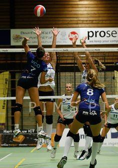 Sliedrecht Sport - VC Oudegem (BEL) 14/9/13 | Foto van PimsPictures.nl | #volleybal #volleyball #eredivisie #delaeredivisie