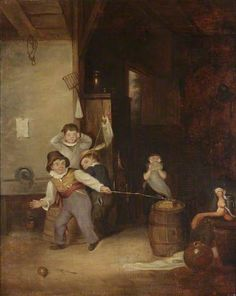 The Toy Prisoner Being Shot in the School Room by Edward Bird (1772–1819), 1815 Part I