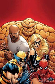 New Avengers by Stuart Immonem ...... !!!!