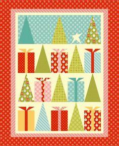 """Hip Holidays"" - Free Quilt Pattern + Bonus Paper Piecing Video Tutorials"