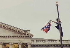 Support Bree Newsome, brave activist in jail for taking down South Carolina's Confederate flag. South Carolina, Social Practice, Civil Disobedience, Confederate Flag, Down South, The Washington Post, Civil Rights, Filmmaking, Black Women