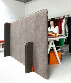 Room divider by Buzzispace #acousticalsolutions