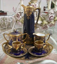 Old Noritake chocolate set 1891-1911