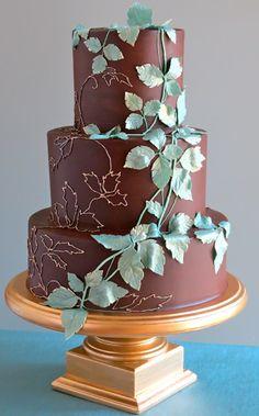 Wedding cake design by Jim Smeal