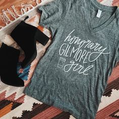 Interrupting your scrolling to let you wonderful people know that Gilmore Girls apparel has been RESTOCKED! Run (don't walk!) to the link in my bio because these sell out FAST! P.S. All orders have to be in by 12/16 for guaranteed delivery by Christmas but don't fret because you can get FREE shipping on all orders over $50 with code: FREESHIPLOVE