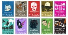 IPSO Books Margery Allingham. Love her Campion mysteries.