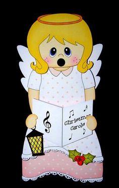 Card Gallery - 3D On the Shelf Card Kit - Little Christmas Nativity Angel