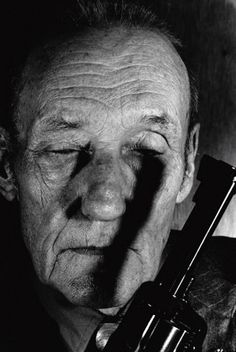 William S. Burroughs (1914-1997) - American novelist, short story writer, essayist, painter, and spoken word performer. Photo by Gottfried Helnwein