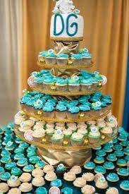 Tower cupcakes