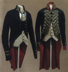 Предметы амуниции солдат и офицеров Российской императорской Гвардии в 18-м столетии.