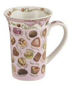 Look what I found on #zulily! Chocolates Mug - Set of Six #zulilyfinds