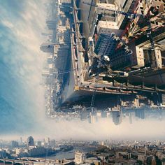 Landscapes Fold in on Themselves in These Stunning Inception Style Photos - BlazePress