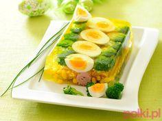 Galaretka warzywno-jajeczna