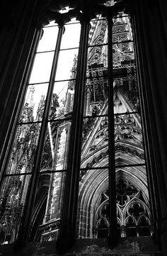 Gorgeous dark gothic, victorian style architecture
